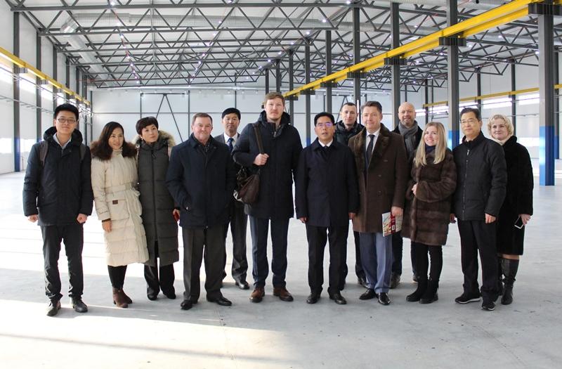 Китайская делегация посетила ижевский индустриальный парк «Металлургический»