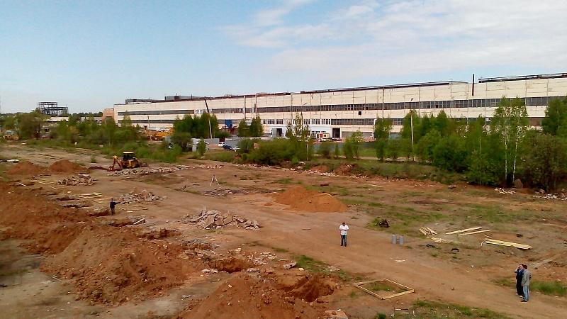"""Отчет о строительных работах на объекте Индустриальный парк """"Металлургический"""""""